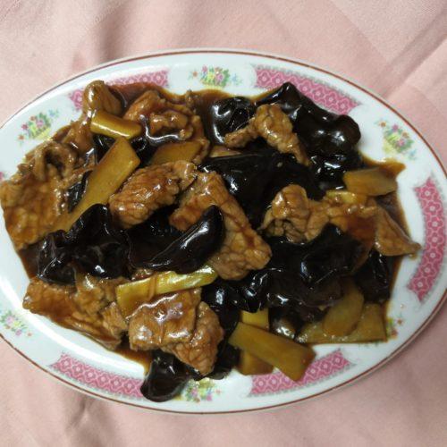 Bœuf aux champignons noir - La Grande Muraille à Bruay-la-buissière